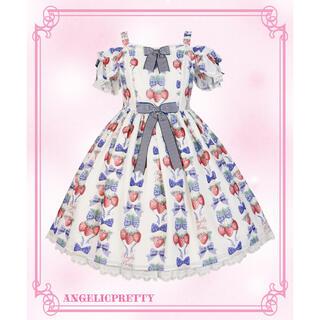 Angelic Pretty - Strawberry DollジャンパースカートSet