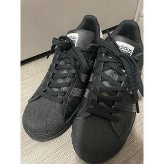 アディダス(adidas)のadidas アディダス スーパースター ブラック 25cm(スニーカー)