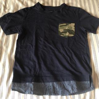 ジーユー(GU)の美品 gu キッズ Tシャツ120(Tシャツ/カットソー)