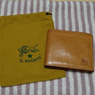 IL BISONTE - IL BISONTE 二つ折り財布 正規品
