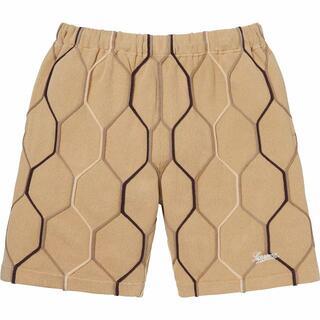 Supreme - 特価!Hex Knit Short Tan M