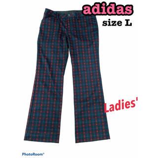 アディダス(adidas)のadidas アディダス パンツ ゴルフ 春 夏 チェック 薄手(ウエア)