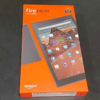 Amazon Fire HD 10  32GB ケース付き ガラスフィルム貼付済
