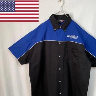 TMR 半袖 ワークシャツ 企業ロゴ(シャツ)