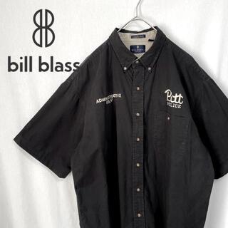 BILLBLASS B.D コットンシャツ 企業ロゴ 半袖(シャツ)