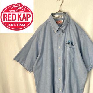 レッドキャップ 半袖 ワークシャツ 企業ロゴ(シャツ)