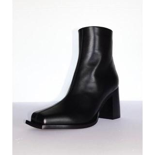 Maison Martin Margiela - Peter Do ピータードゥー boots レザーアンクルブーツ 27 40