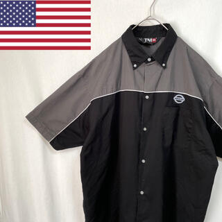 ディッキーズ(Dickies)のTMR B.D 半袖 ワークシャツ 企業ロゴ(シャツ)