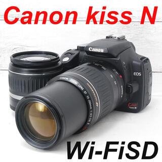 キヤノン(Canon)の❤️簡単操作❤️Wi-FiSDでスマホへ❤️Canon kiss N(デジタル一眼)