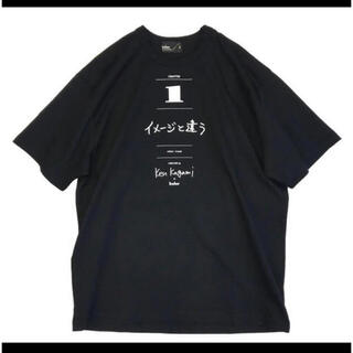 kolor - kolor×加賀美健 コラボTシャツ黒size3