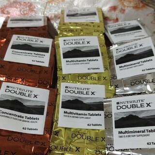 アムウェイ(Amway)のアムウェイ ダブルX  トリプルX  箱なし 3個セット(ビタミン)