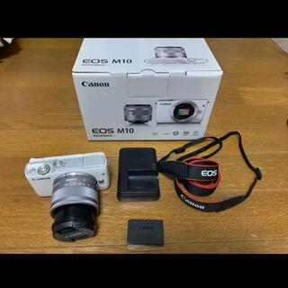 キヤノン(Canon)のCanon EOS M10 EF-M15-45 IS STM レンズキット(ミラーレス一眼)