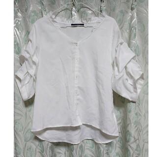 ダブルクローゼット(w closet)のw closet ダブルクローゼット ブラウス(シャツ/ブラウス(長袖/七分))
