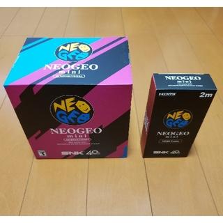エスエヌケイ(SNK)のSNK NEOGEO mini INTERNATIONAL(家庭用ゲーム機本体)