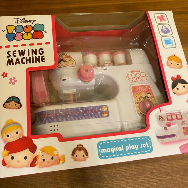 Disney(ディズニー)のディズニー ツムツム トイ ミシン プリンセス ピンク 子供用 おもちゃ エンタメ/ホビーのおもちゃ/ぬいぐるみ(キャラクターグッズ)の商品写真