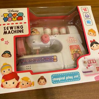 Disney - ディズニー ツムツム トイ ミシン プリンセス ピンク 子供用 おもちゃ
