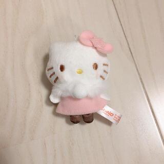 サンリオ(サンリオ)のキティ キャンディ付き マスコット ぬいぐるみ(キャラクターグッズ)
