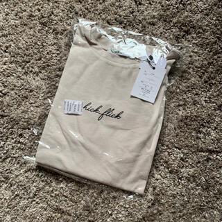 グレイル(GRL)のGRL  ロゴ 刺繍 Tシャツ フリーサイズ(Tシャツ(半袖/袖なし))