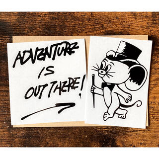 BALLISTICS - ADVENTURE IS OUT THERE ジェリーマルケス ステッカー