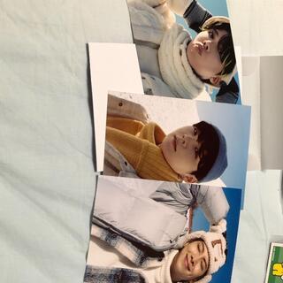 ボウダンショウネンダン(防弾少年団(BTS))のBTS 公式写真 ウィンパケ2021  ラップライン フォトカード(アイドルグッズ)