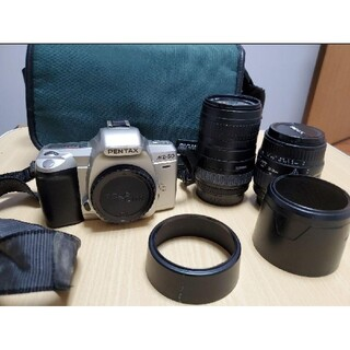 ペンタックス(PENTAX)のPENTAX MZ-60 フィルムカメラ レンズ 専用バッグつき(フィルムカメラ)