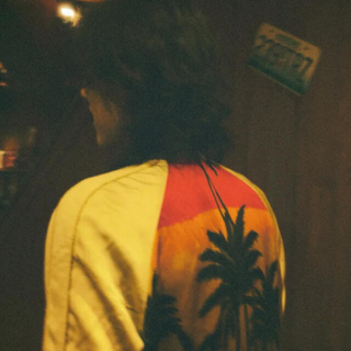 サンローラン(Saint Laurent)のSaint Laurent 16ss PALM TREE Teddy(スカジャン)
