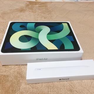 Apple - iPad Air 4 Wi-Fi64GB Apple Pencil2 ケース付き