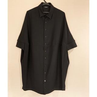 LIMI feu - LIMI feu  ロングシャツ シャツワンピ 黒 ブラック