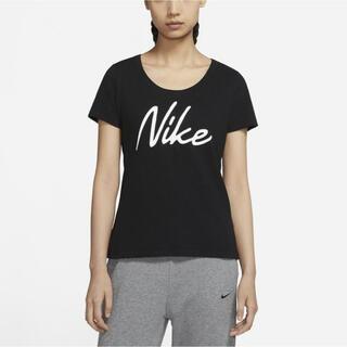 ナイキ(NIKE)の【新品】NIKE ナイキ L ナイキ ロゴ Tシャツ ブラック(Tシャツ(半袖/袖なし))