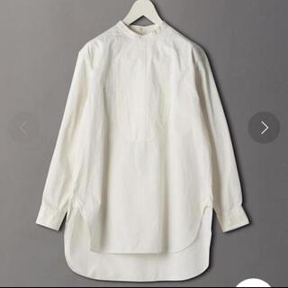 ビューティアンドユースユナイテッドアローズ(BEAUTY&YOUTH UNITED ARROWS)のバンドカラーシャツ(シャツ/ブラウス(長袖/七分))