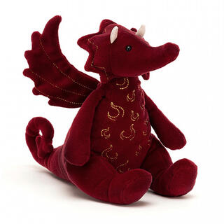 国内未入荷 新品タグ付 ジェリーキャット ドラゴン Ruby Dragon(ぬいぐるみ/人形)