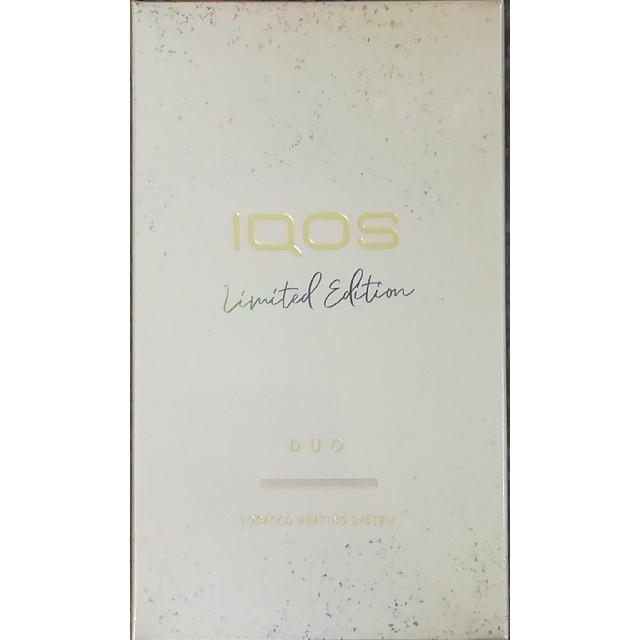 IQOS(アイコス)のIQOS 3 DUO 本体 ムーンシルバー メンズのファッション小物(タバコグッズ)の商品写真