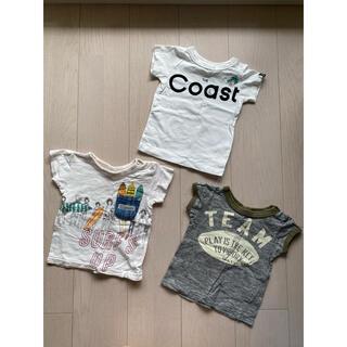 ブリーズ(BREEZE)のブリーズ   Tシャツ 3枚セット 80(Tシャツ)