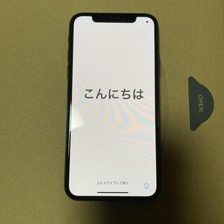 iPhone - 美品 iPhoneX 256GB スペースグレー 本体