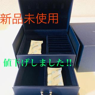 【新品未使用】銀座ダイヤモンドシライシ ジュエリーボックス(その他)