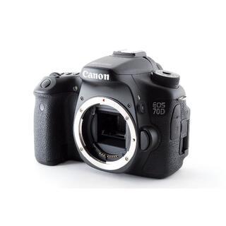 キヤノン(Canon)のキャノン CANON EOS 70D ボディ【動作確認済み バッテリーなし】(デジタル一眼)