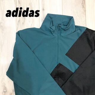 アディダス(adidas)の【新品同様】adidas ナイロンメッシュパーカー(ナイロンジャケット)