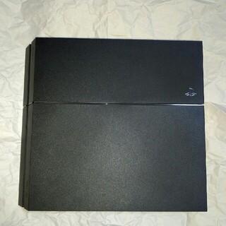 PlayStation4 - 動作確認済み PS4 黒 物理ボタン ジェットブラック