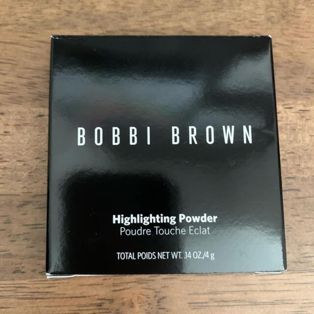BOBBI BROWN(ボビイブラウン)のボビイブラウン【新品未使用】ミニハイライティングパウダー 限定品 ハイライト コスメ/美容のベースメイク/化粧品(フェイスパウダー)の商品写真