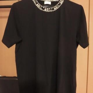 Saint Laurent - 【未使用】サンローラン・パリ 襟デザイン Tシャツ