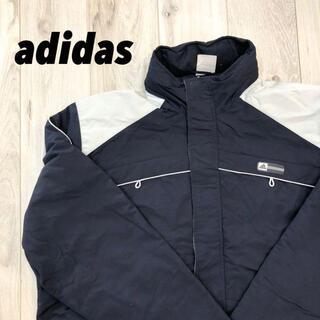 アディダス(adidas)の【美品】adidas ナイロンジャケット 生地厚い(ナイロンジャケット)