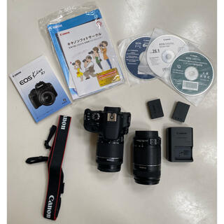 キヤノン(Canon)のCanon EOS KISS X7 Wズームキット(デジタル一眼)