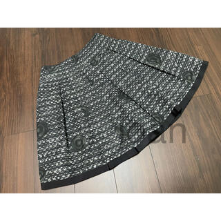 エムズグレイシー(M'S GRACY)のエムズグレイシー カメリアスカート(ひざ丈スカート)