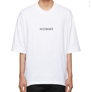 COMME des GARCONS - COMME des GARÇONS HOMME オーバーサイズ綿度詰天竺Tシャツ