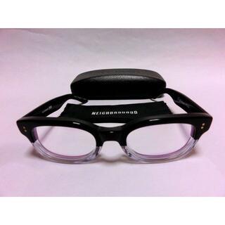 ネイバーフッド 伊達眼鏡 メガネめがね エフェクター クリアー
