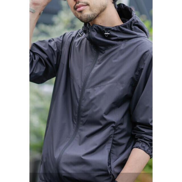 nano・universe(ナノユニバース)の《WEB限定》撥水 ミノテックライトフードブルゾン メンズのジャケット/アウター(ブルゾン)の商品写真