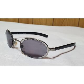 グッチ(Gucci)の正規良 レア グッチ オールドクラシック Gロゴ メタルコンビサングラス 黒×銀(サングラス/メガネ)
