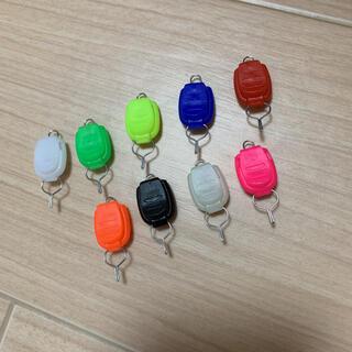 ラインストッパーオレンジ5個(釣り糸/ライン)