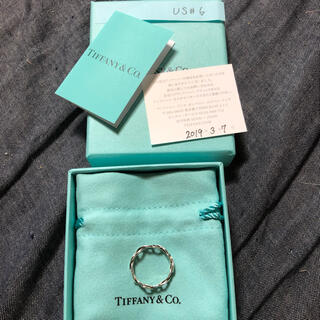 Tiffany & Co. - ティファニー インフィニティー リング 11号