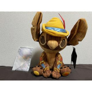 Disney - スティッチ ピノキオ ぬいぐるみ ピンバッチ セット